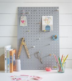 This medium sized pegboard in grey is great for a busy studio, home office, kitchen or children's bedroom. Gourmet Dog Treats, Healthy Dog Treats, Healthy Kids, Pegboard Display, Cinnamon Tortillas, Beauty Salon Logo, Veggie Dogs, Best Homemade Dog Food, Dinners For Kids