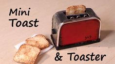 Hey guys! Today we're making a cute miniature toaster from polymer clay and metal, + some polymer clay toast. If you want - you can add a cord the same way a...