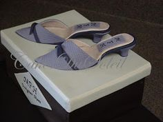 ~ Sugar Teachers ~ Cake Decorating and Sugar Art Tutorials: How to Make a Gumpaste High Heel Shoe
