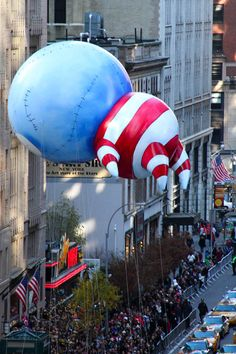 Tim Burton balloon at the Thanksgiving Parade, NY