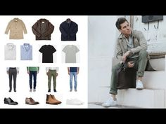 If you want to build a stylish, versatile wardrobe, you should focus on neutral colors. All of your basic wardrobe items should be in the same neutral color palette. Wardrobe Basics, Wardrobe Staples, Neutral Colour Palette, Fashion Advice, Well Dressed, Color Splash, Style Guides, Military Jacket, Menswear