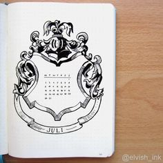 Raise your hand if you are obsessed with both Harry Potter and Bullet Journals? Read this for the best Harry Potter Bullet Journal Layout and Spread ideas! Bullet Journal Period Tracker, Bullet Journal Hacks, Bullet Journal Ideas Pages, Bullet Journal Cover Page, Bullet Journal Layout, Bullet Journal Harry Potter, Bellet Journal, Anniversaire Harry Potter, Theme Harry Potter