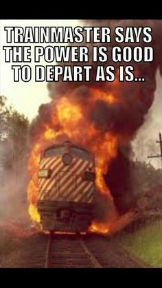 Railroad Humor Railroad Humor, Railroad Wife, Humor Quotes, Funny Quotes, Man In Love, Love You, Crazy Life, Work Humor, Model Trains