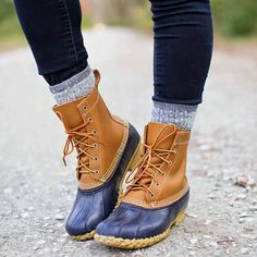 You can't go through fall and winter without Bean Boots! #llbean #llbeanboots