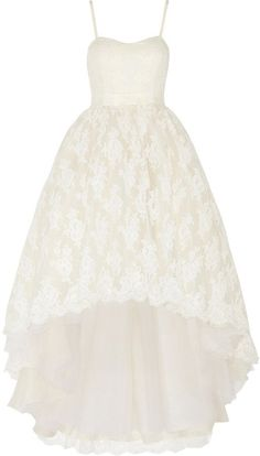 Pin for Later: Les Meilleures Robes de Mariée du Web  Temperley London Robe longue du soir en dentelle Pia (5,630€)