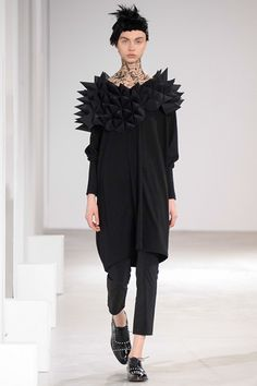 Junya Watanabe - Volume was the center of the is collection, but Junya Watanabe is like coming home you always know what to expect and you love the vibe. thestyleweaver.com Fall 2015 Ready-to-Wear