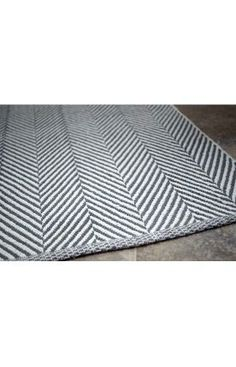 #salvationjanehome  elspeth's room salvation  Rugs USA Chalet Herringbone Cotton Flatwoven Navy Rug...also in grey