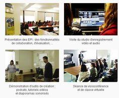 """Portes ouvertes : """"usages du numérique dans les pratiques d'enseignement"""" [TICE - Université Paris 1] http://tice.univ-paris1.fr/09020893/0/fiche___actualite/&RH=n2SiteTICe_01"""