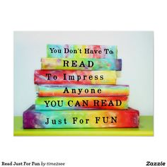 Read Just For Fun Poster