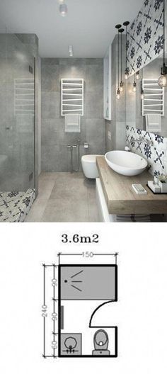 Shower Room Restoration Concepts: restroom remodel expense, bathroom ideas for small bathrooms, tiny washroom style suggestions. #smallbathroomdesignswithtub #remodelinspiration