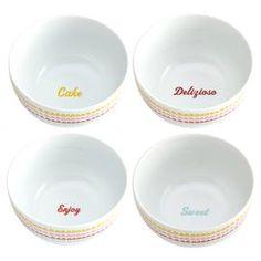 Icing Porcelain Bowl (Set of 4)