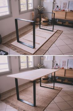 DIY Make your own dining table & discover Ripaton - Femalez Sites My Furniture, Furniture Design, Diy Dining Table, Dining Room, Küchen Design, Design Table, Salon Design, Home Interior Design, Home And Living