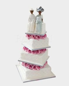 African Wedding Cakes, How To Make Cake