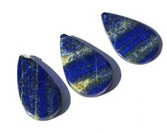 1Pc Natural Lapis Lazuli Smooth Pear Shaped by RareGemsNJewels