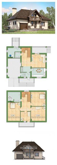 Ev villa projesi 200-001-L | House Expert