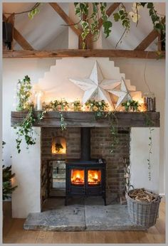 Charming Living Rooms Design Ideas With Firep&; Charming Living Rooms Design Ideas With Firep&; Sonjasallerlei Sonjasallerlei Wohnung Charming Living Rooms Design Ideas With Fireplace to […] living room with fireplace Wood Burner Fireplace, Inglenook Fireplace, Cozy Fireplace, Fireplace Design, Fireplaces, Log Burner Living Room, Living Room Decor Fireplace, Cottage Fireplace, Rustic Fireplace Decor