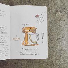 Sketchbook by longtime participant noor! from Los Angeles!