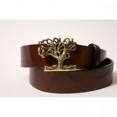 Tree of Life Leather Belt Handmade by Leathersmith Jeff Taylor from Cellar Leather on Cape Cod by CellarLeatherBelts on Etsy https://www.etsy.com/listing/163330439/tree-of-life-leather-belt-handmade-by