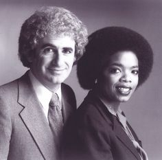 Richard Sher and Oprah |  Thanks to my Baltimore buddies Richard Sher and Arleen Weiner—have known them since PEOPLE ARE TALKING, my first talk show.   --Oprah
