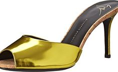 Giuseppe Zanotti Women's E50042 Mirror Lemon Pump  #Fashion