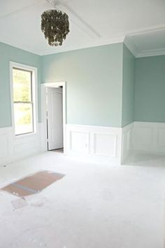 Love the Paint Color: Benjamin Moore's Palladian Blue would like it in a bathroom by myrtle.rhymestinesky