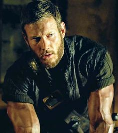 """shadspecs: """"Billy Bones' arms appreciation - for science! Tom Hopper, Billy Bones, Charles Vane, Pirate Adventure, Black Sails, Pirate Life, Muscular Men, About Time Movie, Black And White Portraits"""