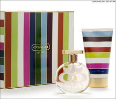 Coach Legacy Perfume and Lotion Gift Set. Love this! It's such a light, fresh, perfect for summer fragrance! <3 It kind of reminds me of Tommy Freedom and V.S. Pink!