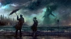 Ilustraciones de Cthulhu en el foro Universo Paranormal - 2015-04-24 00:33:18…