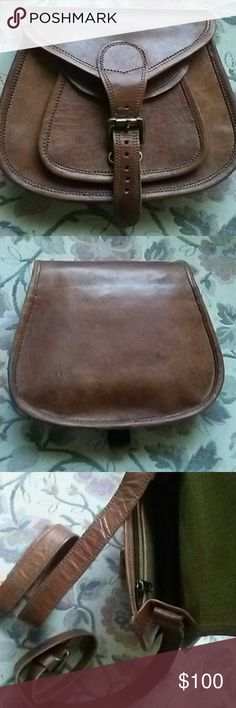 Goat leather purse. New. Small Bags Shoulder Bags