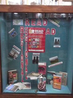 Read Regional display at Jesmond Library