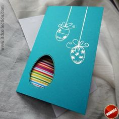 Happy Easter, Quilling, Ale, Origami, Diy And Crafts, Greeting Cards, Xmas, Handmade, Advent
