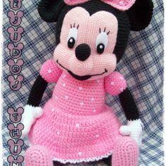 Paw Patrol, Minnie Mouse, Steamboat Willie, Crochet Dolls, Softies, Handmade Toys, Hello Kitty, Plush, Teddy Bear