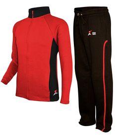 f2404b57bf88b8 SkylineWears Mens Athletic Full Zip Fleece Tracksuit Jogging Sweatsuit  Activewear at Amazon Men's Clothing store: