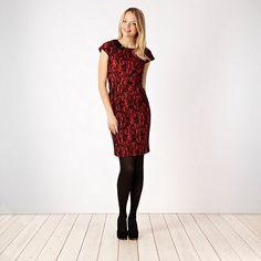 red lace dress- at Debenhams.ie