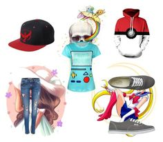 """Untitled #185"" by themadhattersnightmare on Polyvore featuring Vans and Episode"