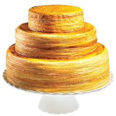 STYLE INSPIRATION: CANNES FILM FESTIVAL  WEDDING CAKE  Crepe cake, $550 (serves 45), Lady M Confections