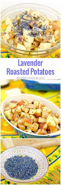 Lavender Roasted Potatoes | Boulder Locavore