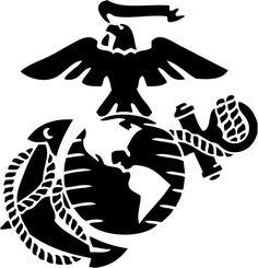 marine corps emblem clip art usmc logo clip art art pinterest rh pinterest com marine corps clip art images marine corps insignia clip art