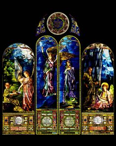 Helping Angel Window Panel. John La Farge - 1890.