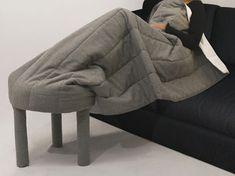 Fauteuil repose-pied Collerette par M design Studio pour Casamania