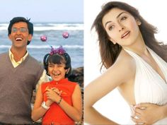 Bet you remember  Hrithik Roshan in Koi Mil Gaya. But do you remember the girl in pigtails next to him? Yes, it is the pretty Hansika Motwani!