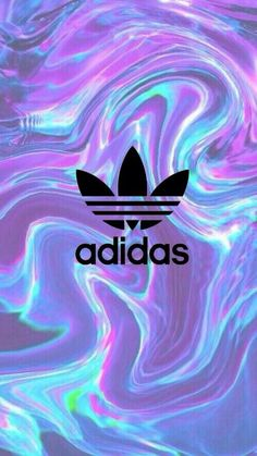 If Adidas are your favorite company, you should add this wallpaper! Holo Wallpapers, Holographic Wallpapers, Cool Wallpapers For Phones, Cute Wallpapers, Adidas Iphone Wallpaper, Iphone Background Wallpaper, Cellphone Wallpaper, Girl Wallpaper, Tumblr Wallpaper