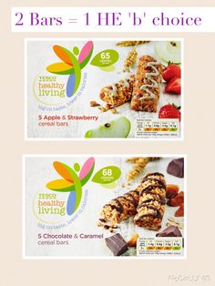 Tesco Healthy Living Cereal Bars