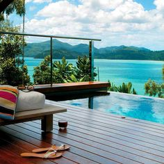 Views from the Qualia Resort, Hamilton Island, Great Barrier Reef. Photo courtesy of eahoneymoons on Instagram.