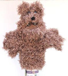 Bear Hand Puppet Bubba Flumpet £16