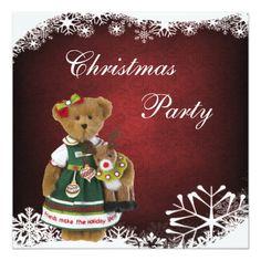 Friends Make the Holiday Sparkle Christmas Bear Card