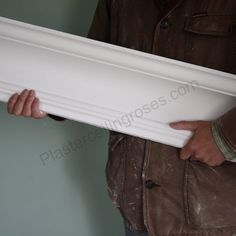 Plaster Cornice contemporary and substantial looks good in rooms with high ceilings.