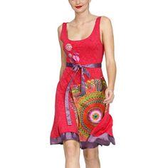 Desigual: Sleeveless Dress Pink,