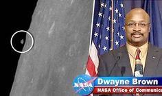 NASA ainda não comentou sobre esta foto da Lua