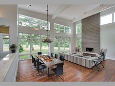 Diseño de Interiores & Arquitectura: Rancho Contemporáneo en Texas Mostrando un Precioso Interior